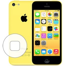 iPhone 5C Home Button Repair Service